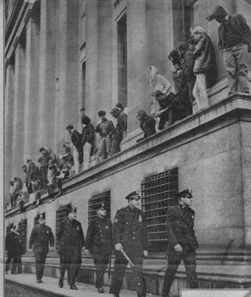 ARC case study: student protest at Columbia University, April 1968.